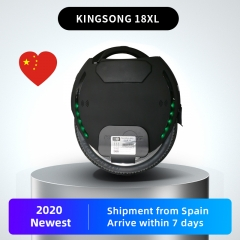 kingsong electric unicycle 18XL 1554wh 2200W motor matte black