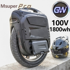 Gotway Msuper X  Pro MSX PRO Electric unicycle 100V 1800WH