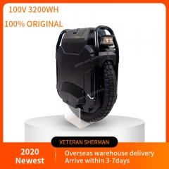 Veteran sherman Electric unicycle, 100.8V 3200WH, motor power 2500W