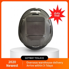 2020 New Gotway Tesla V2 monowheel electric unicycle 1020WH 2000W motor with speaker Handle anti-aircraft